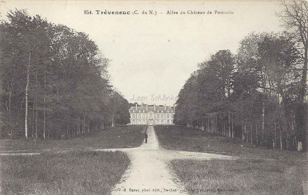 22-Tréveneuc - Château de Pommorio (J.B. Barat 854)