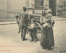 22 - Types de la Rue - Joueur d'orgue