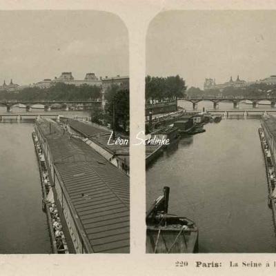 220 - Paris - La Seine à l'2cluse de la Monnaie