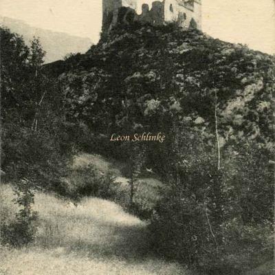 227 - Vallée de Vicdessos - Le Château de Miclos