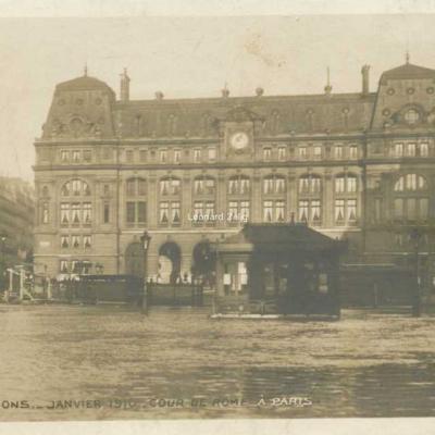 23 - Cour de Rome à Paris