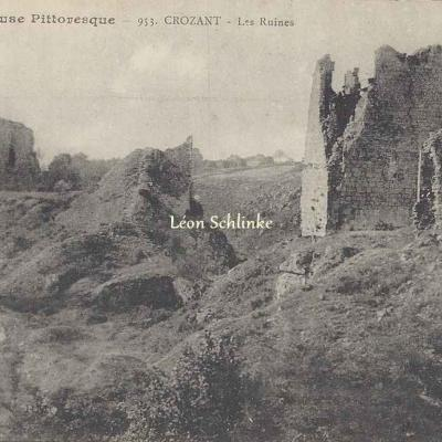 23-Crozant - Les Ruines (inc. 953)
