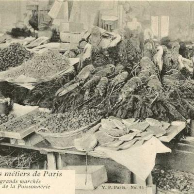 23 - Les grands marchés - Pavillon de la Poissonnerie