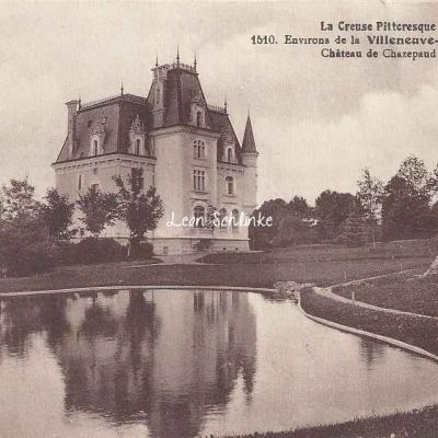 23-Saint-Bard - Château de Chazepaud (MFA 1510)