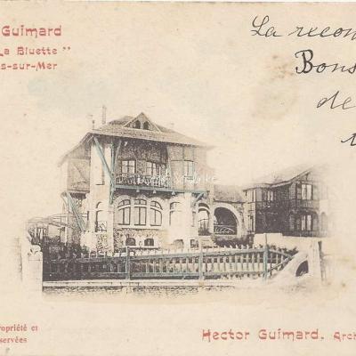 23 - Style Guimard - Villa ''la Bluette''