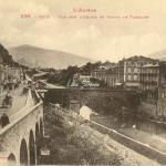 238 - Vue sur l'Ariège et Route de Tarascon