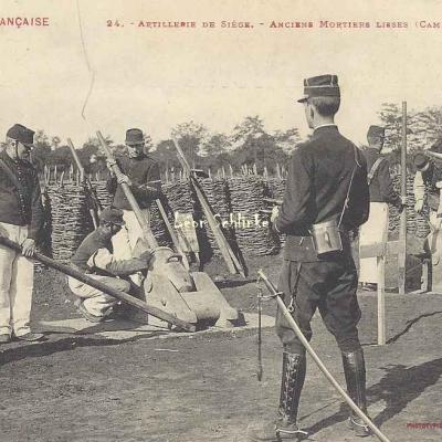 24 - Anciens Mortiers lisses (Camp de Ger)