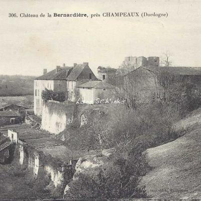 24-Champeaux - 306 - Château de la Bernardière (O.Domège)