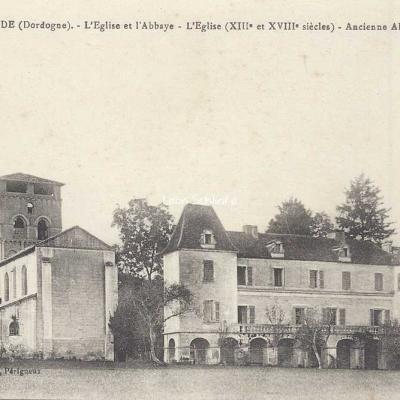 24-Chancelade - 38 - L'Eglise et l'Abbaye des Bénédictins (O.Domège)