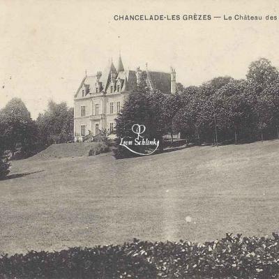 24-Chancelade-les-Grèzes - Château des Reynats (Ss edit)