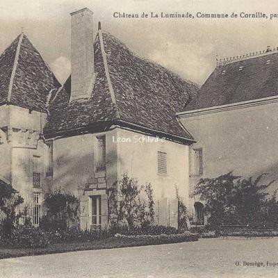 24-Cornille - Château de la Luminade (O.Domège)