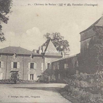 24-Hautefort - 21 - Château de Redon (O.Domège)