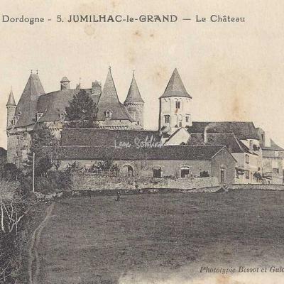 24-Jumilhac-le-Grand - 5 - Le Château (Bessot et Guionie)