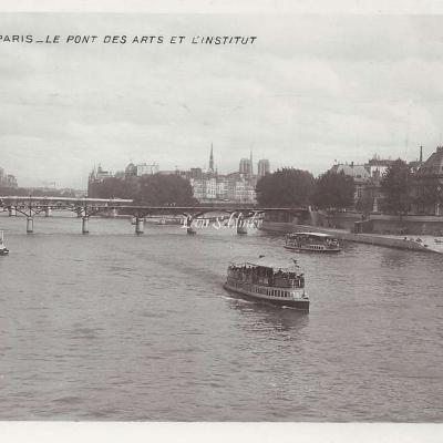 24 - Le Pont des Arts et l'Institut