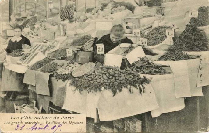 24 - Les grands marchés - Pavillon des légumes