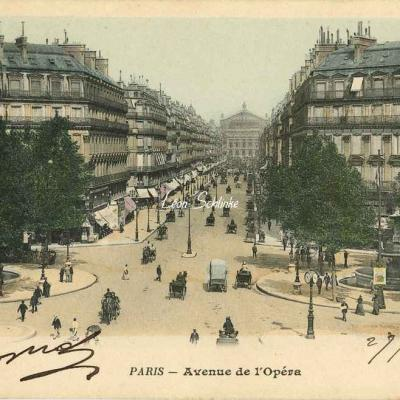 25 - Avenue de l'Opéra