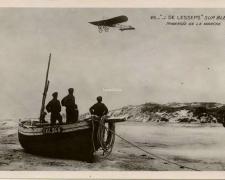 25 - J. De Lesseps sur Blériot - Traversée de la Manche