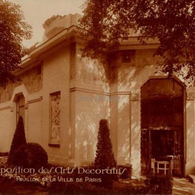 25 - Pavillon de  la Ville de Paris