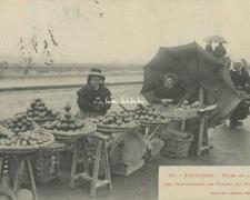25 - Types de la Rue - Les Marchandes de Fruits du Pont-Neuf