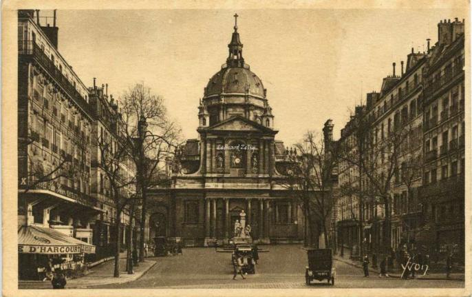 259 - Façade de l'Eglise de la Sorbonne
