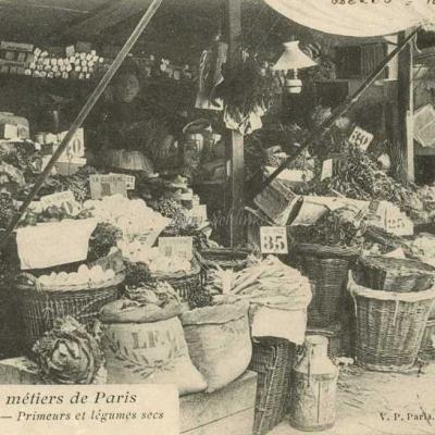 26 - Sous la baraque - Primeurs et légumes secs