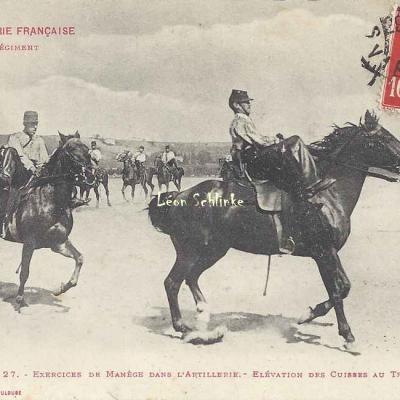 27 - Exercices de Manège - Elévation des cuisses au Trot