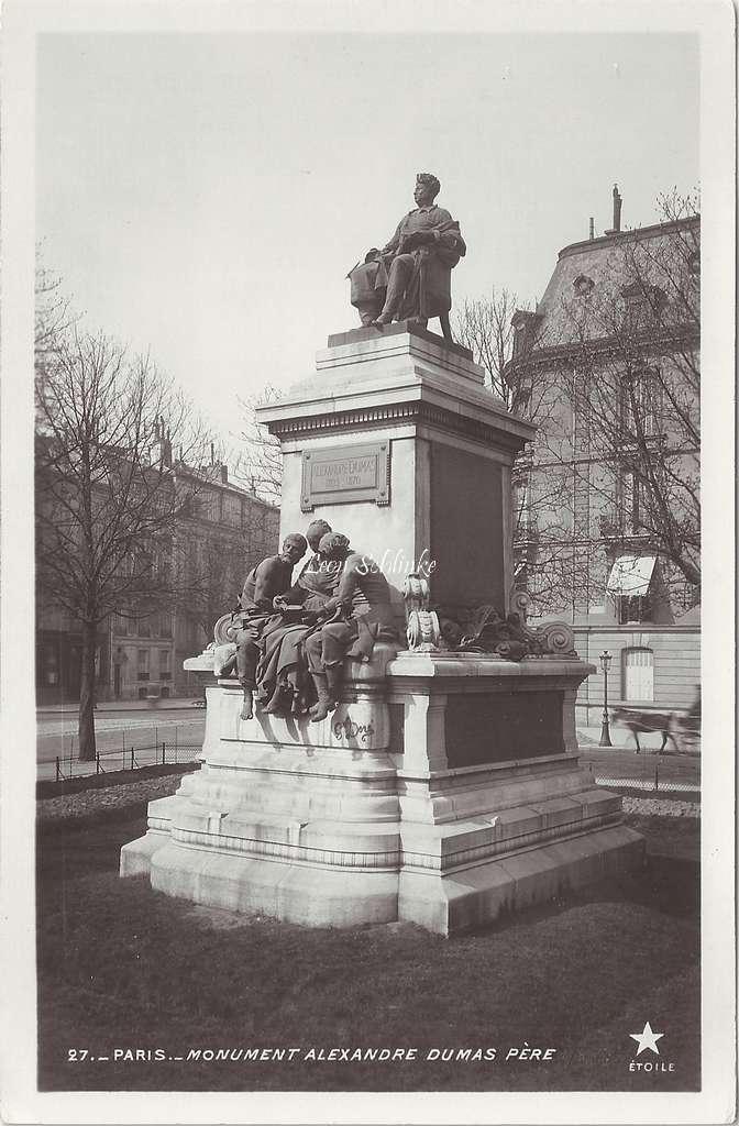 27 - Monument Alexandre Dumas père