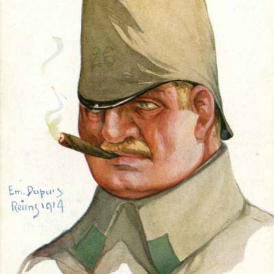 27 - Officier de chasseurs (landwehr allemand)