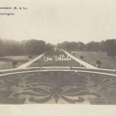 28- Abondant - Le Château, le Boulingrin (C.Simon)