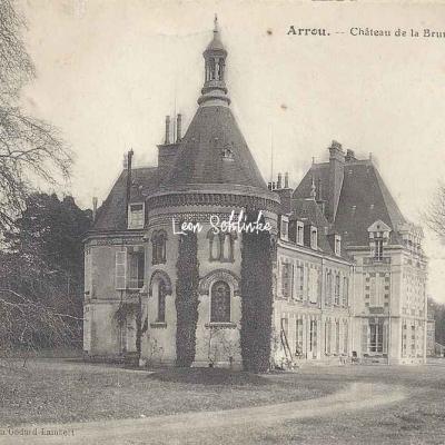 28- Arrou - Château de la Brunetière (Ed. Godard-Lambert)