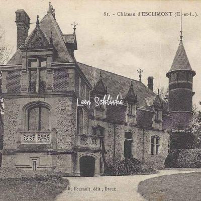 28- Bleury-Saint-Symphorien - Château d'Esclimont (G.Foucault 81)