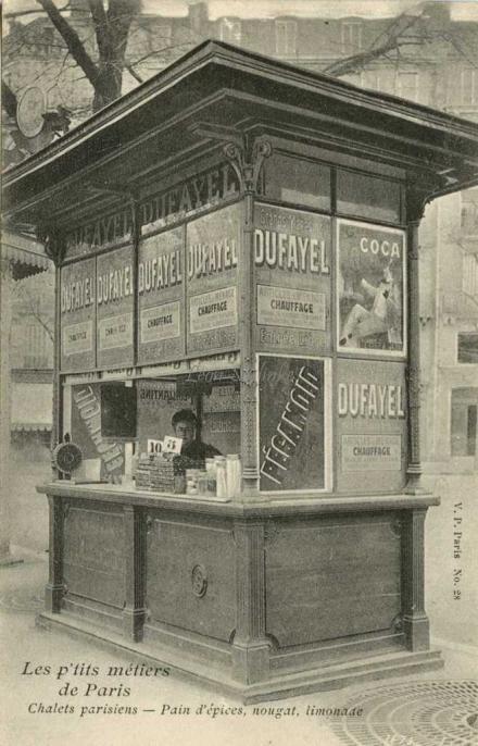 28 - Chalets parisiens - Pain d'épices, nougat, limonade