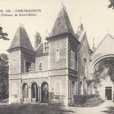 28- Chateaudun - 149 - Château de Saint-Gilles (P.-G.)