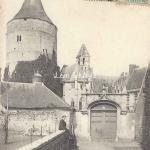 28- Châteaudun - Entrée du Château (Ss edit)