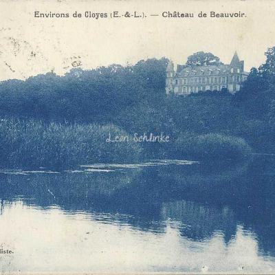 28- Env. de Cloyes - Château de Beauvoir (Noulin, bur.)