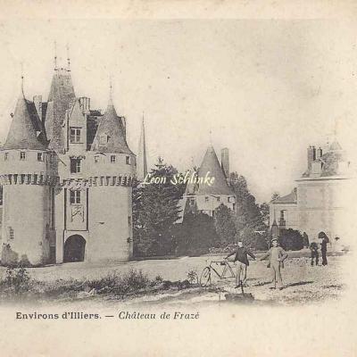 28- Frazé - Le Château (Coll. A.Raut)