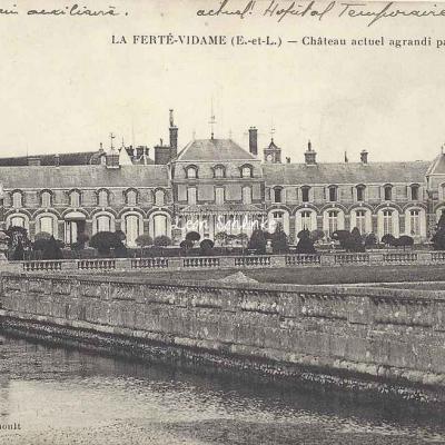 28- La Ferté-Vidame - Le Château (Jules Renoult)