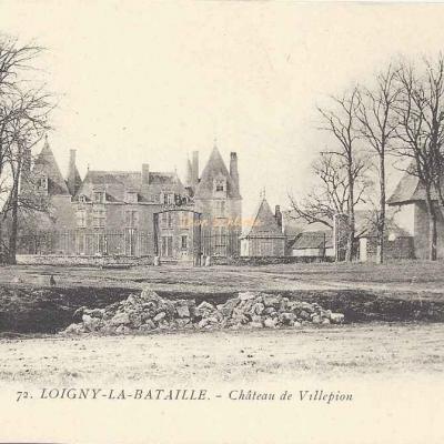 28- Loigny-la-Bataille - 72 - Château de Villepion (M.Marron)