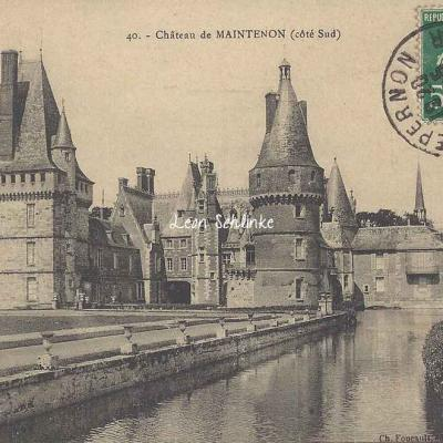 28- Maintenon - Le Château (Ch.Foucault 40)