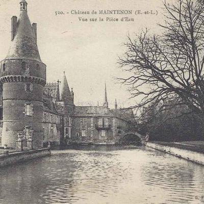 28- Maintenon - Le Château (G.Foucault 520)