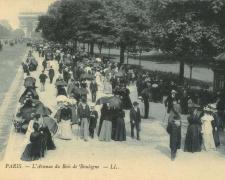 28 - PARIS - L'Avenue du Bois de Boulogne