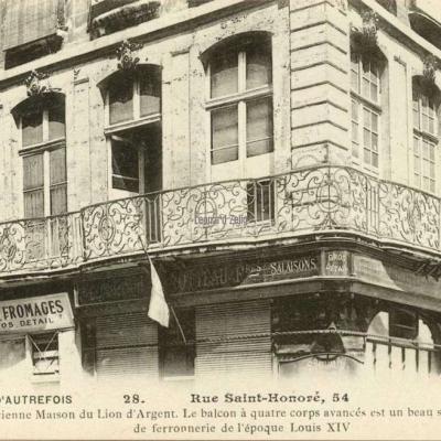 28 - Rue Saint-Honoré, 54