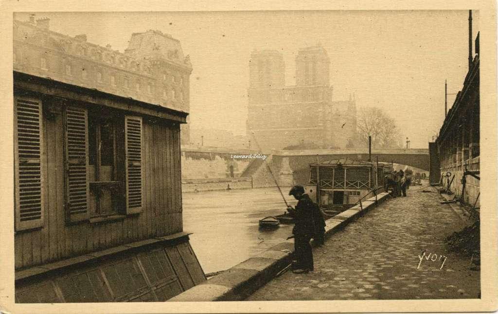 283 - La Seine au Quai de Montebello