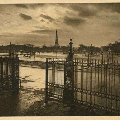 291 - Entrée du Jardin des Tuileries Place de la Concorde