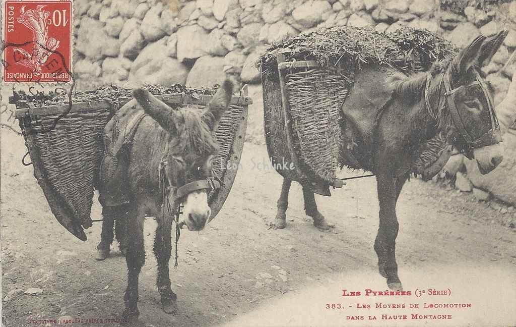 3 - 383 - Les Moyens de Locomotion dans la haute Montagne