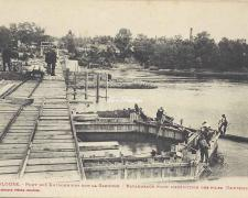 3 - Batardeaux pour l'exécution des piles (Septembre 1904)