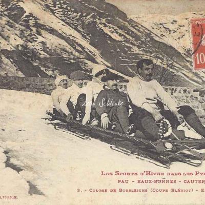 3 - Course de bobsleighs (Coupe Blériot) - En vitesse !!