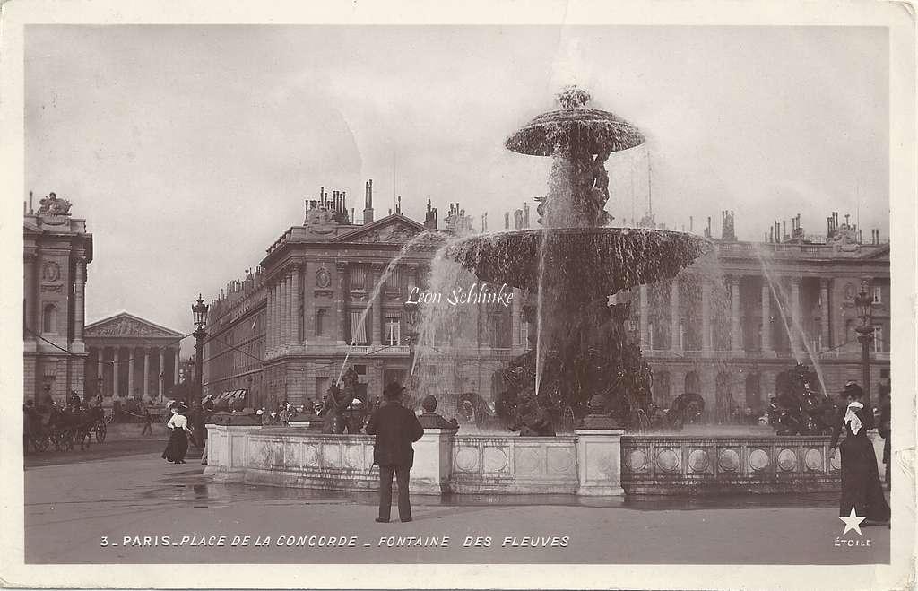3 - Place de la Concorde - Fontaine des Fleuves
