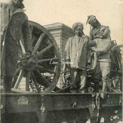 3 - Toulouse - L'Armée de l'Inde, Artilleurs Indous