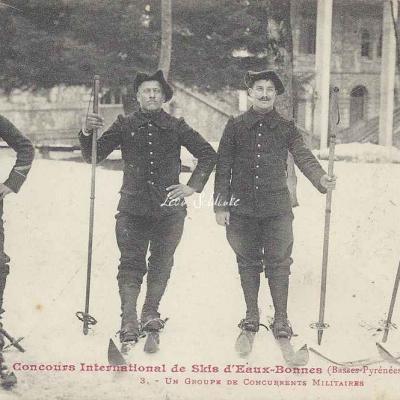 3 - Un groupe de concurrents militaires